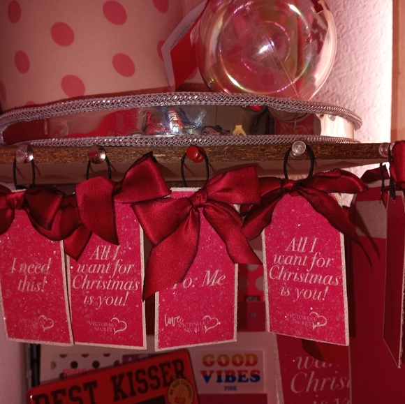 Victoria secret Christmas tree ornaments